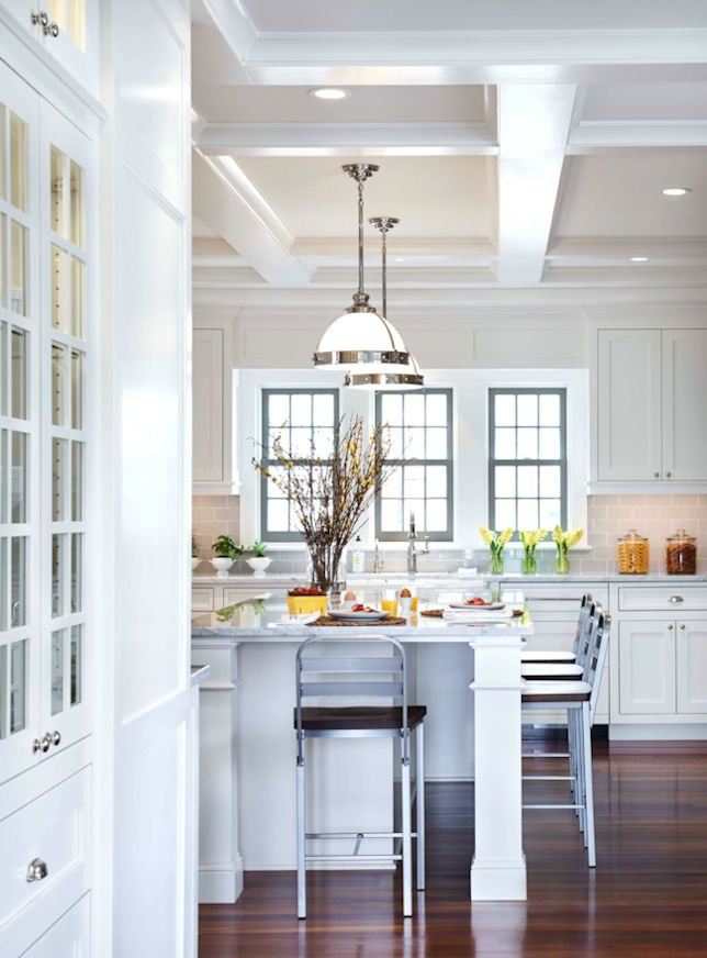 Meadowbrook Cottage kitchen Remodel by Charlie & Co. Design