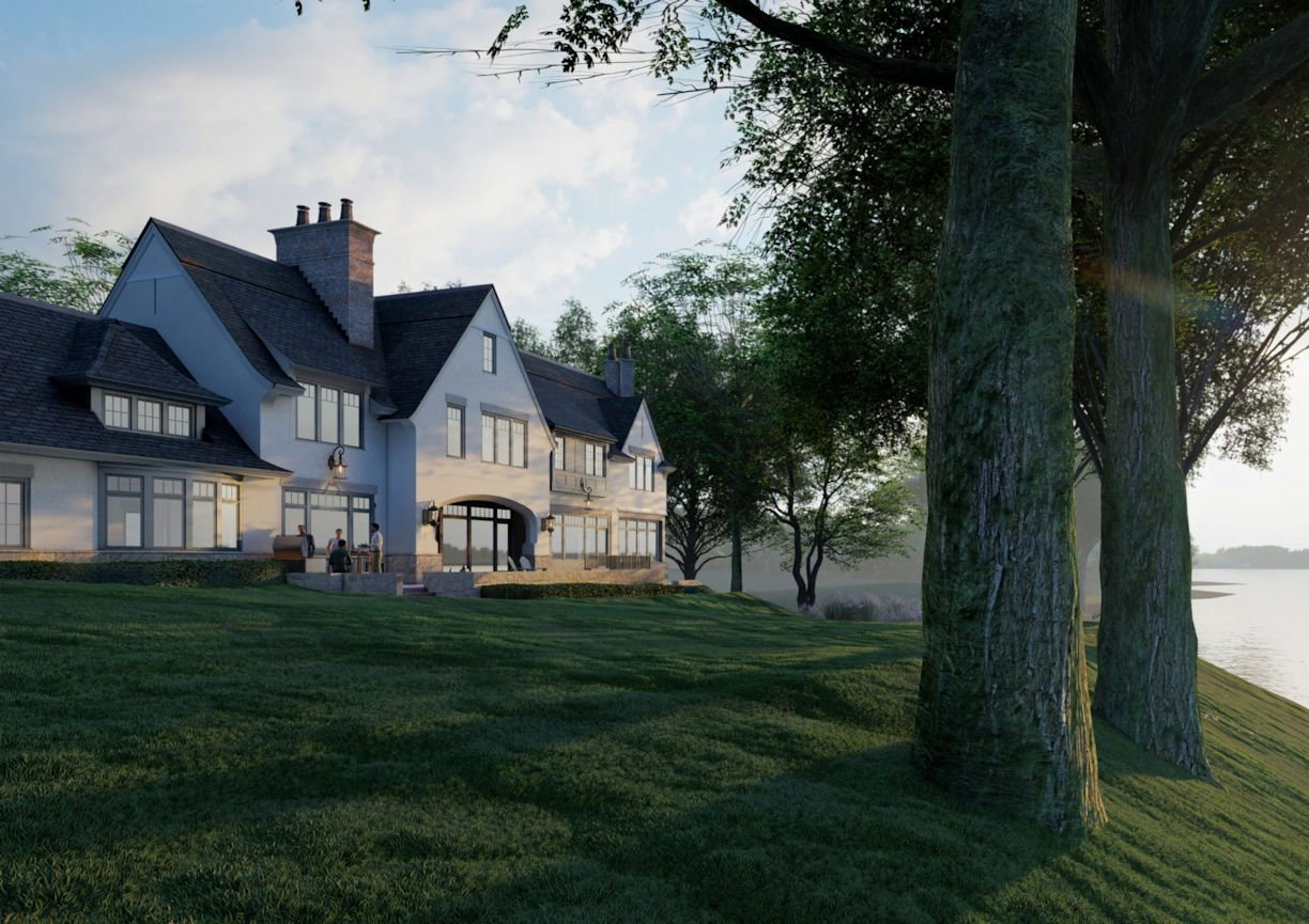 Scotch Pines residency designed by Colby Mattson of Charlie & Co. Design