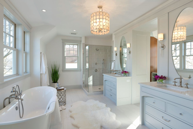 Excelsior Shingle Style master bath