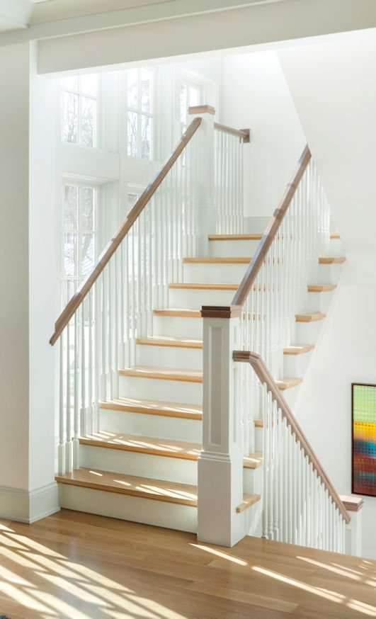 Excelsior Shingle Style stairs