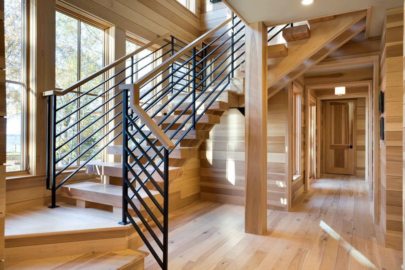 Green Lake Cottage stairway