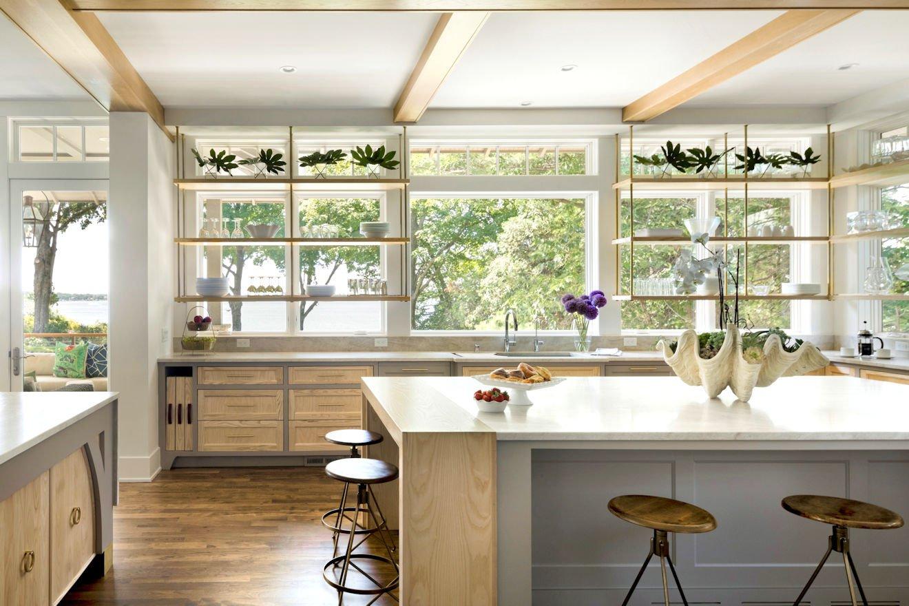 Minnetonka Transitional kitchen island