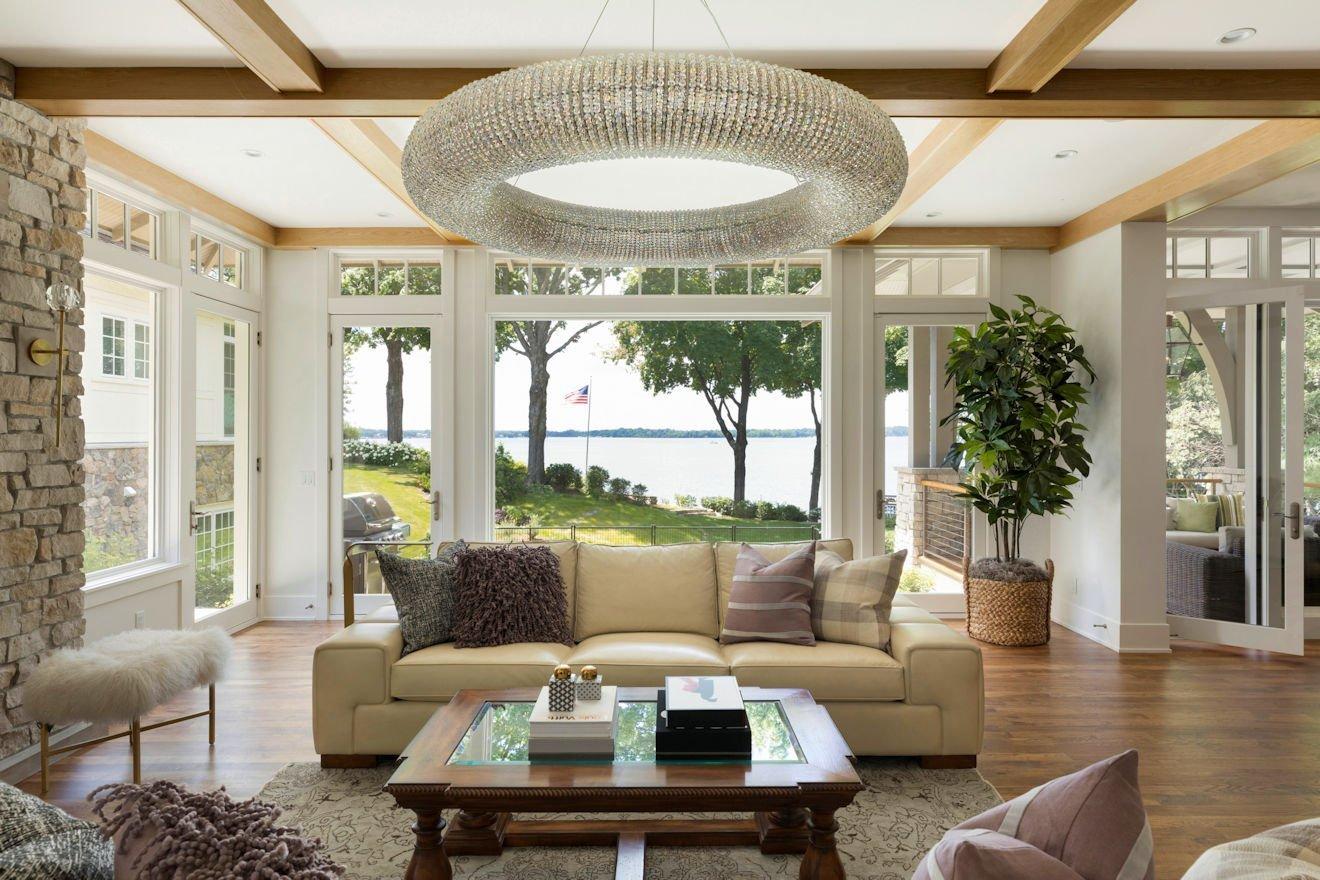 Minnetonka Transitional living room