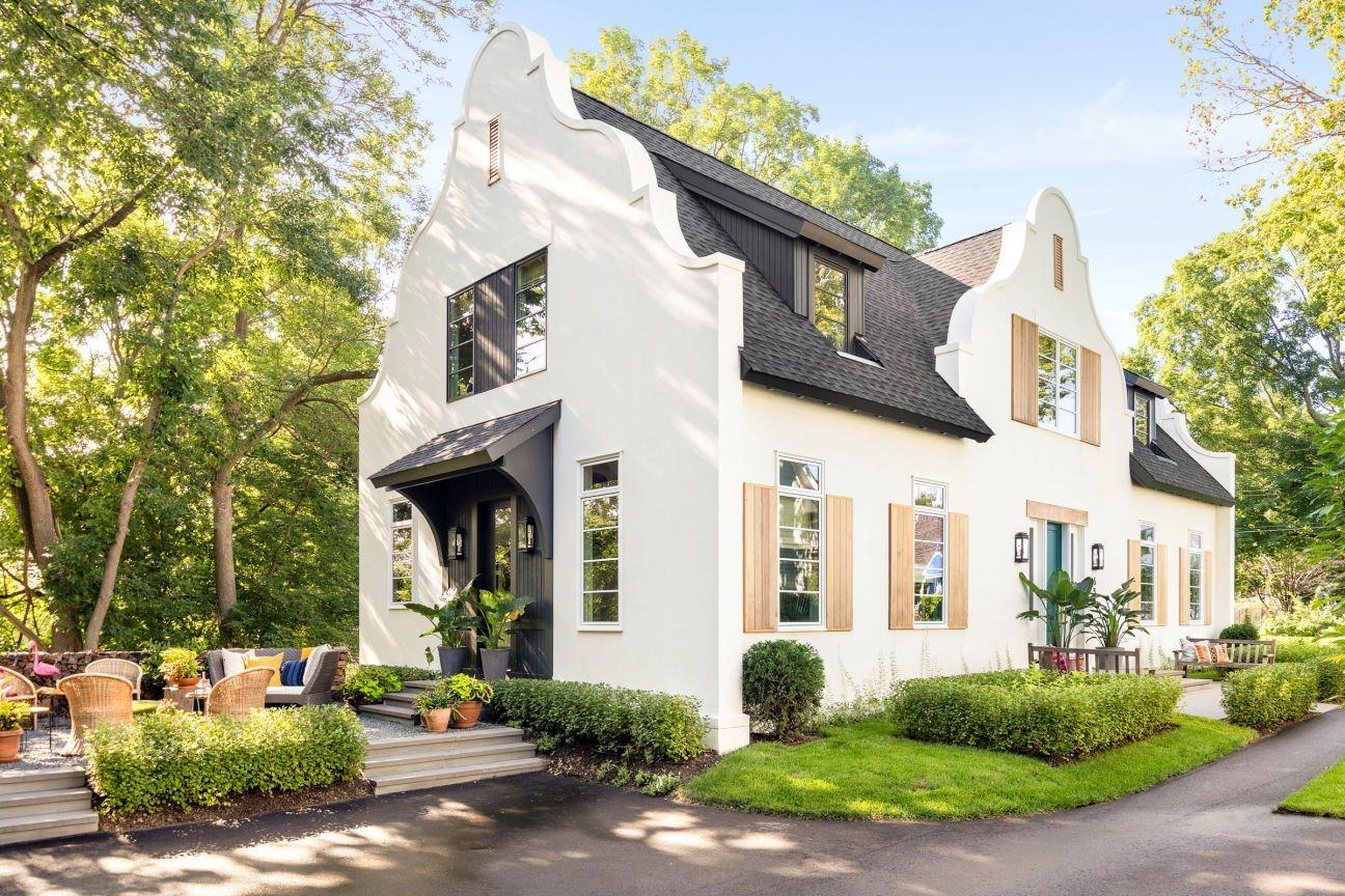 Charlie & Co Design - Cape Dutch Modern style home