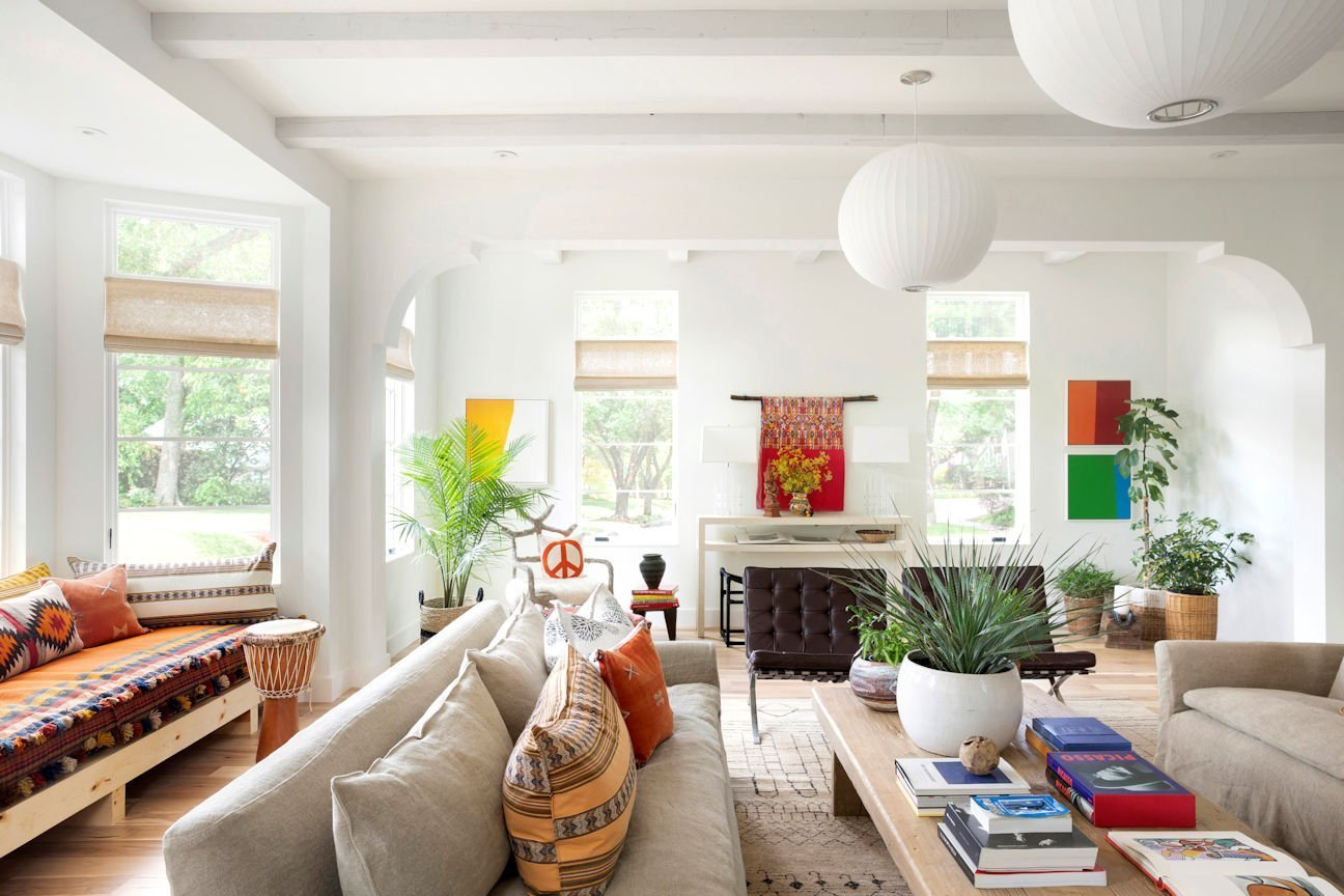 Cape Dutch Modern great room