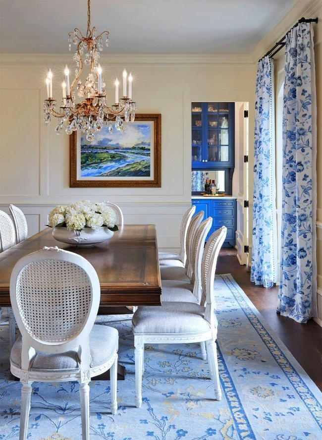 St. Paul French Country dining room