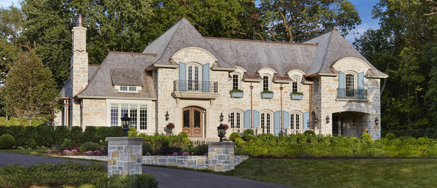 St. Paul French Country luxury home by Charlie and Co Design