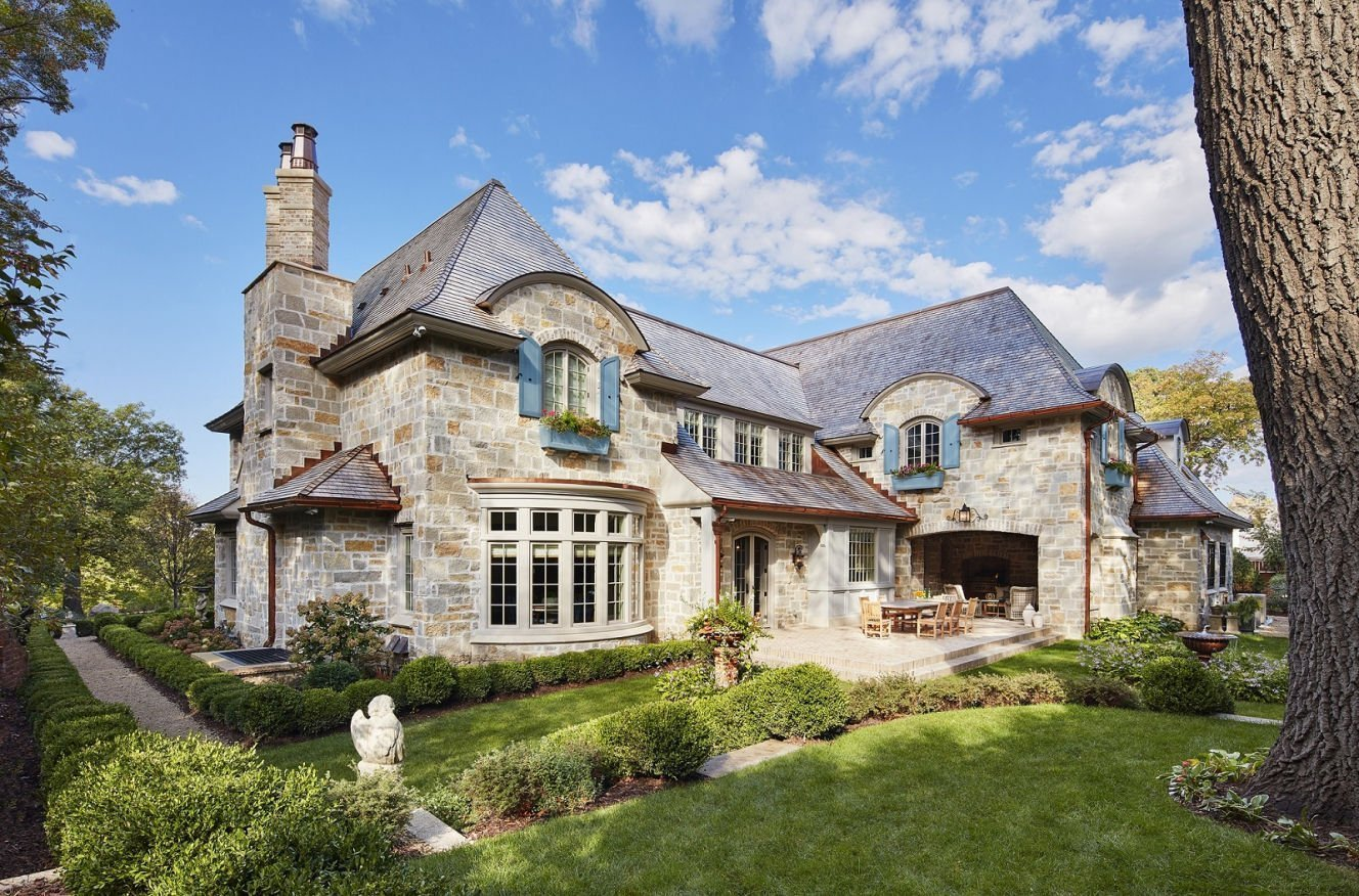 St. Paul French Country architecture by Charlie & Co. design