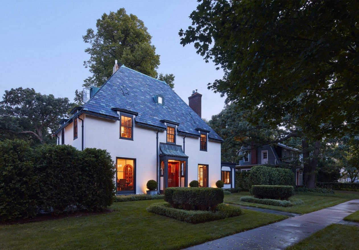 St. Paul Tudor Renovation by Charlie & Co. Design
