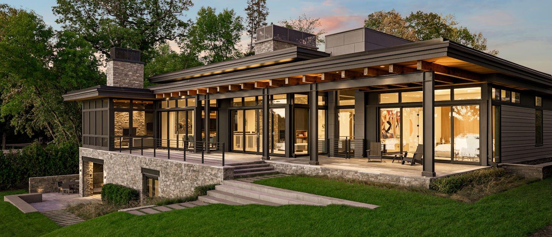 Modern Montana Retreat by Charlie & Co. Design