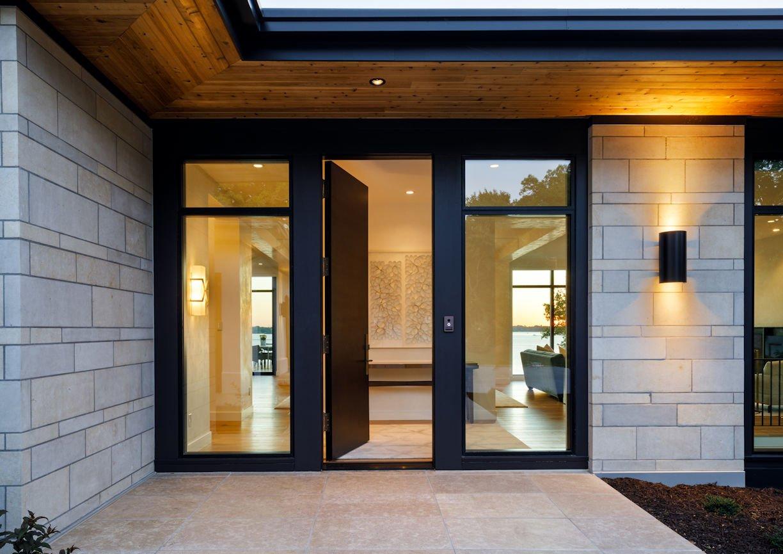 entryway for Tonka Bay Modern home