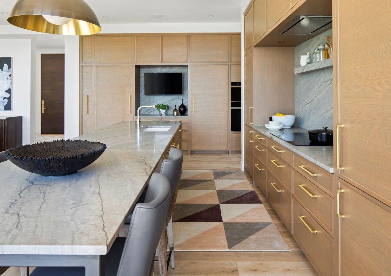 kitchen in Tonka Bay Modern home