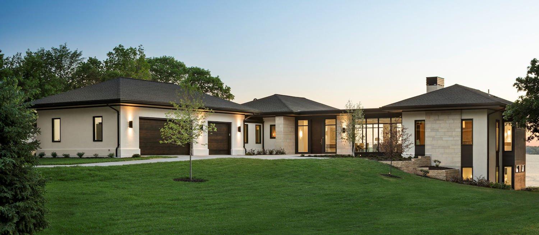 Tonka Bay Modern home designed by Charlie & Co. Design